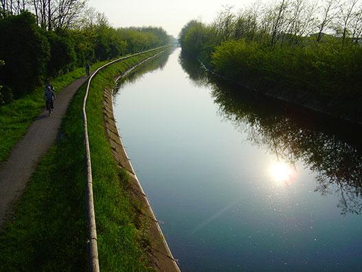 Pista Ciclabile Canale Villoresi: Monza-Ticino