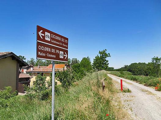 Ciclovia del Po - Gite in Lombardia