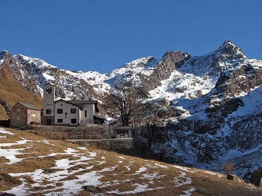 Madonna delle Nevi in Val Biandino - Gite in Lombardia