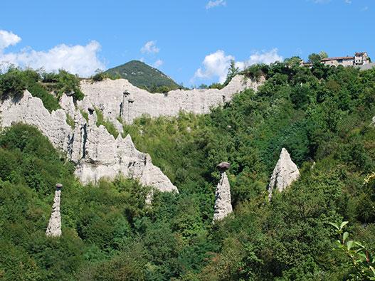 Riserva delle Piramidi di Zone - Gite in Lombardia