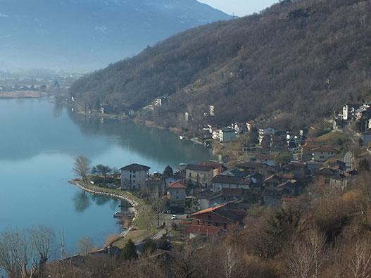 Itinerario Sorico - Sasso di Dascio - Gite in Lombardia
