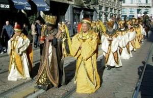 Corteo Re Magi Sant'Eustorgio Milano