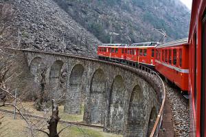 Unesco Lombardia treno Bernina