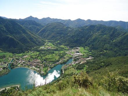 itinerario da Pieve d'Idro al Dosso Sassello