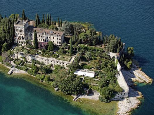 Scoprite l'Isola del Garda, la villa più affascinate di Brescia