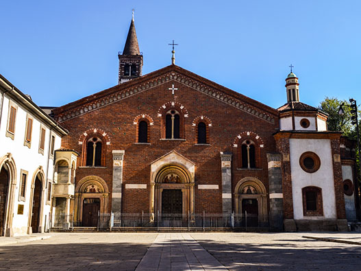 Basilica di Sant'Eustorgio - Gite in Lombardia