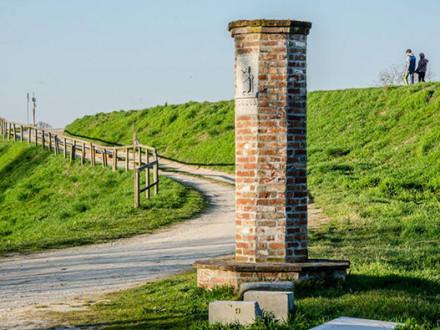 In bici sulla Via Francigena da Lambrinia a Piacenza