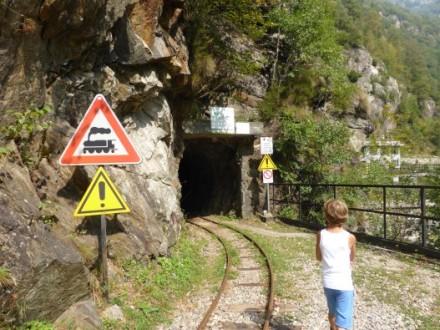 Col Sentiero del Tracciolino, proposta interessante per trekking a Sondrio e dintorni, scoprirete 10 km di gallerie, prati e boschi di montagna.