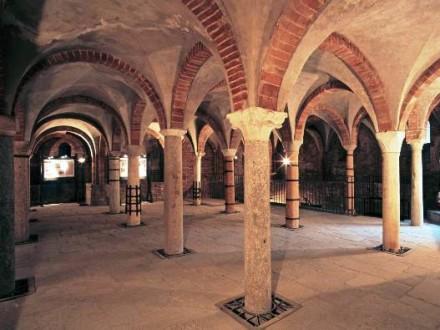 Cripta di San Giovanni in Conca - Gite in Lombardia