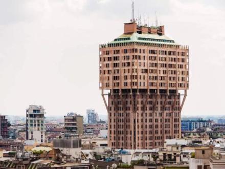 La Torre Velasca, elemento simbolo dello skyline di Milano