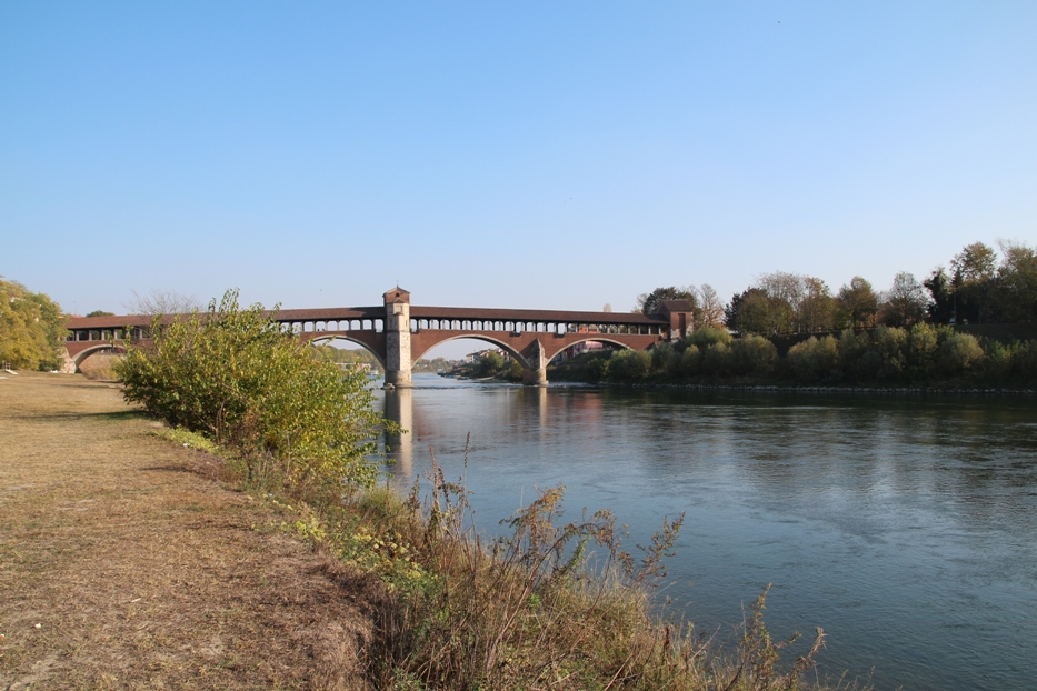 Vista sul Ponte Coperto