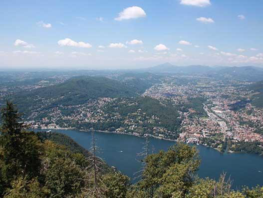 Brunate - Como - Gite in Lombardia