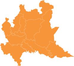 Immagini Lombardia Cartina.Lombardia Mappa Gite In Lombardia