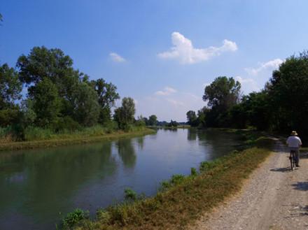 Ciclabile del Canale della Muzza - Gite in Lombardia