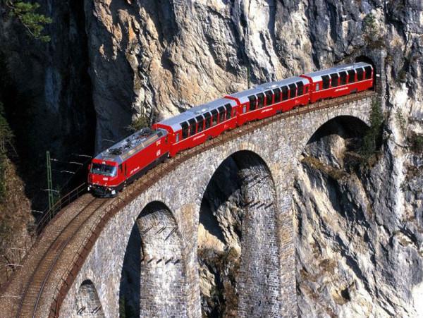 Unesco Lombardia ferrovia retica