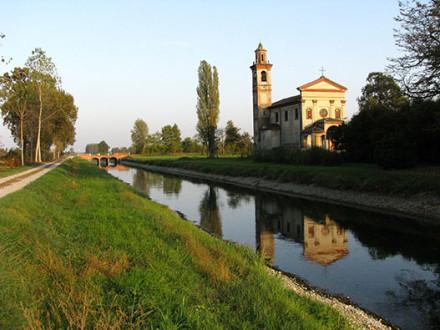 Ciclabile del Canale Vacchelli - Gite in Lombardia