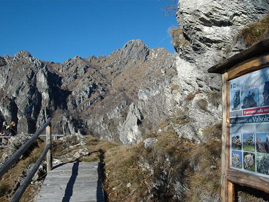 Percorso nella Roccia - Gite in Lombardia