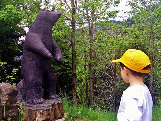 Sentiero dell'orso - Gite in Lombardia