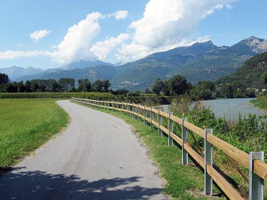 Sentiero Valtellina da Tirano a Sondrio
