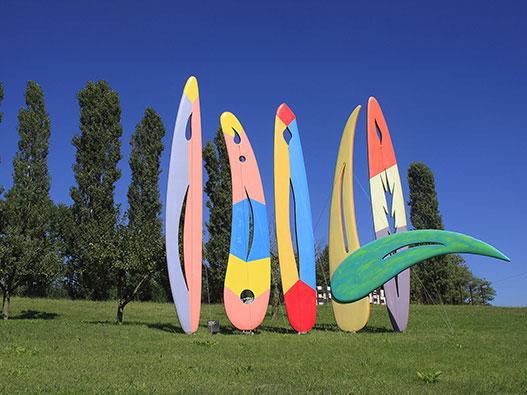 Rossini Art Site: un parco museo on air tra natura e arte