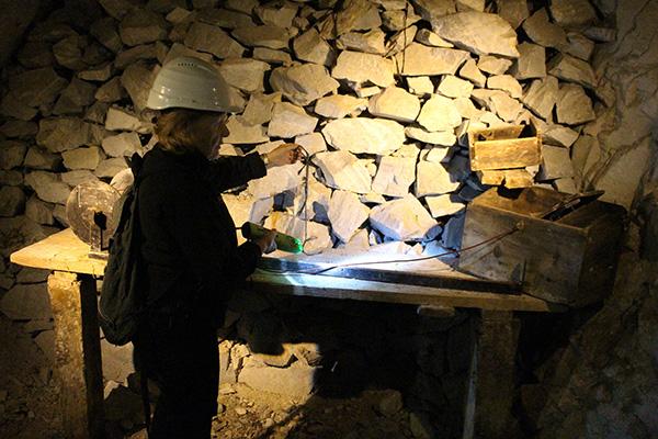 riservetta miniera della bagnada