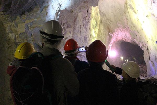miniera della bagnada visita